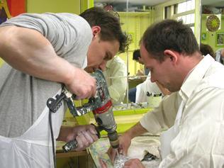 workshop voor mannen